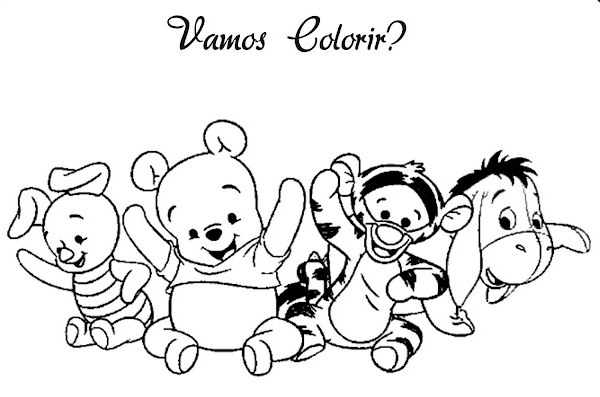 Ba da web ursinho pooh baby desenhos para colorir for Winnie the pooh and friends coloring pages