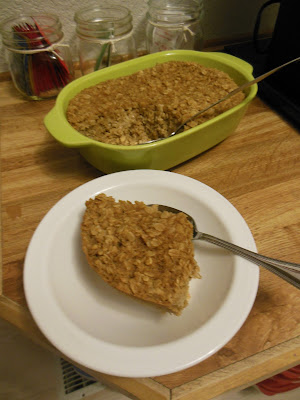 Easy Baked Oatmeal, with or without fruit when you bake and when you serve!