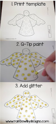 christmas angel step by step www.rainbowlilydesigns.com
