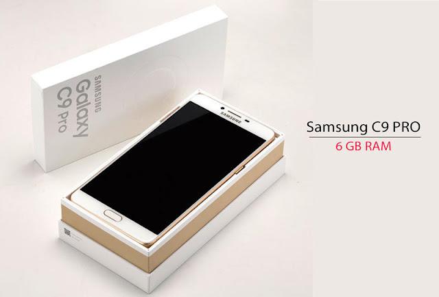 Galaxy C9 Pro Menggoda dengan 128 GB