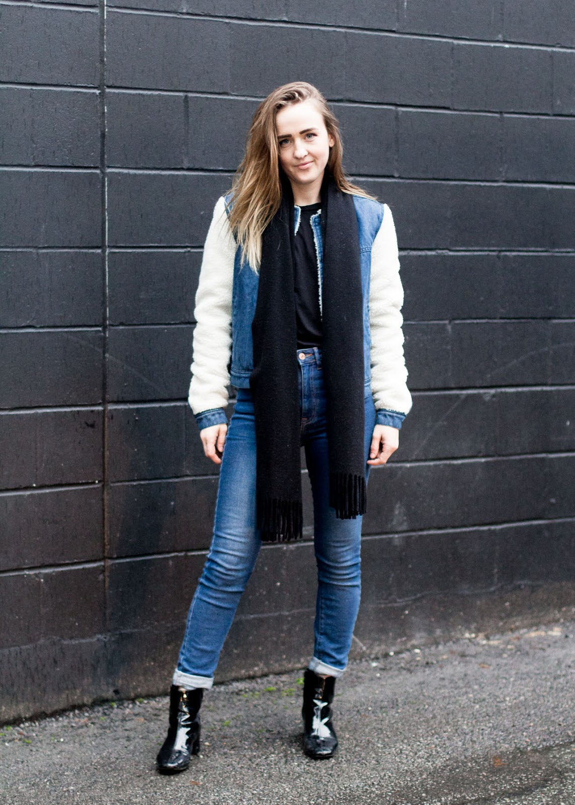2018 resolutions - winter denim outfit - Vancouver Fashion blogger