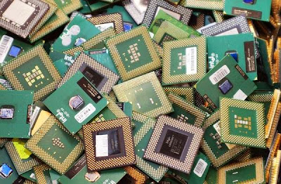 come trovare l'oro dai rifiuti elettronici