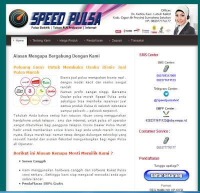 template web pulsa
