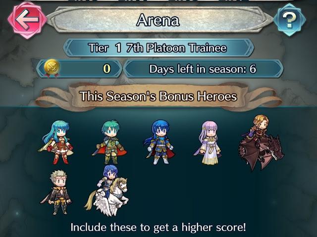 Los nuevos personajes en el Coliseo y la batalla contra Cecilia ya disponible en FE: Heroes