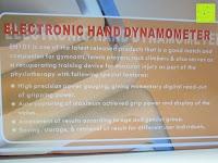 Box Rückseite: Camry Digitaler Hand-Kraftmesser / Dynamometer, zum Trainieren der Hände, 90 kg / 200 lb