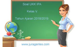Contoh Soal UKK / UAS 2 IPA Kelas 5 Terbaru Tahun Ajaran 2018/2019