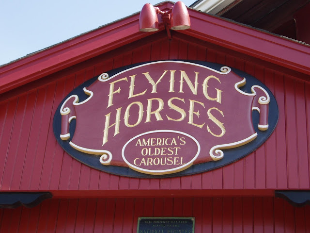 Flying Horses Carousel | Oak Bluffs | Chichi Mary Blog
