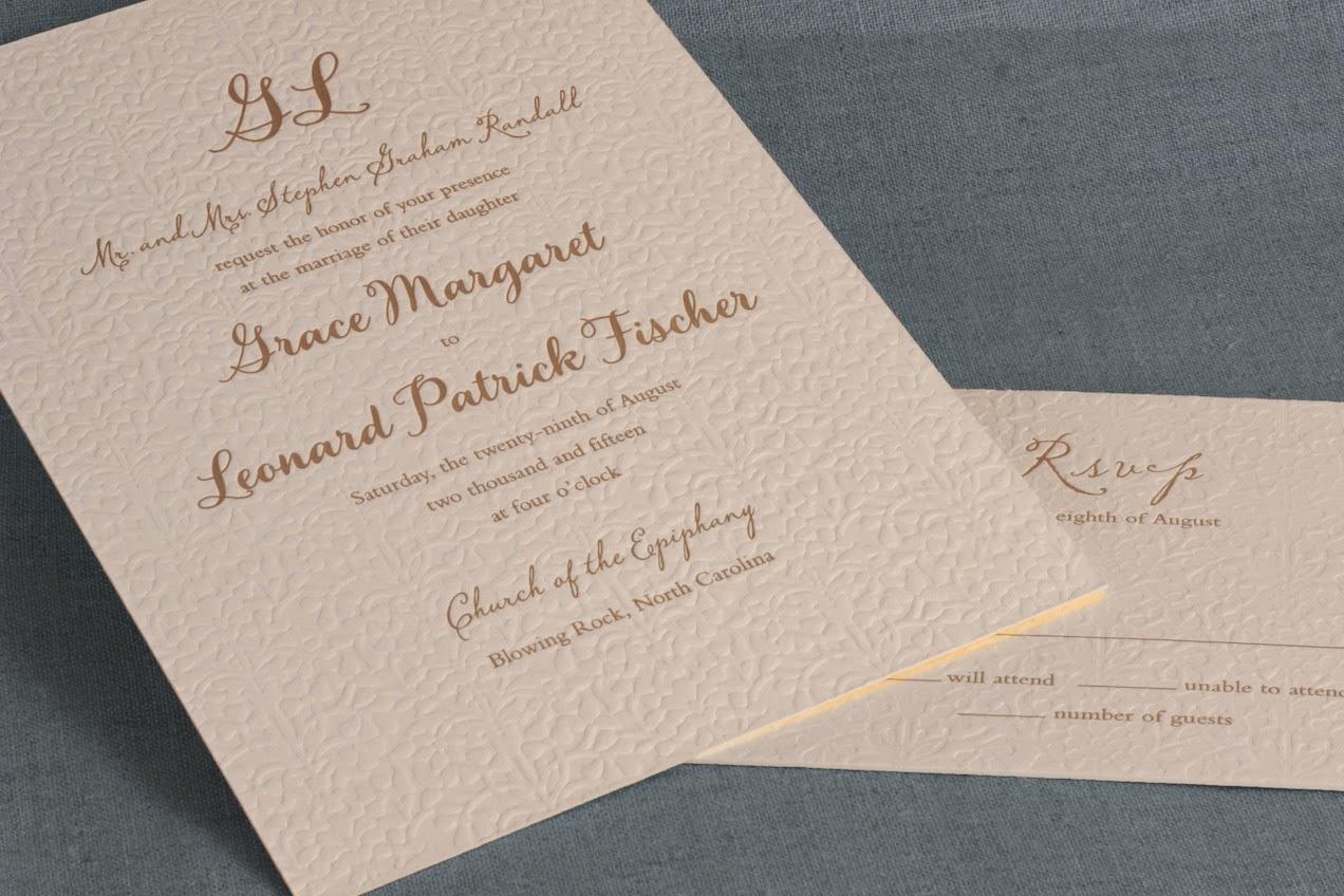 Wedding Invitations William Arthur: William Arthur Blog: Trend Watch: The Wedding Logo