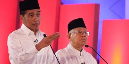 Quick Count Indo Barometer Suara Masuk 90%: Jokowi 54,31%, Prabowo 45,69%