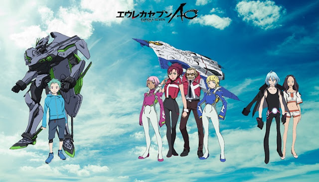 Download Eureka Seven AO Subtitle Indonesia