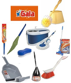 GALA Home Cleaning Utilities (Mop, Brooms, Scrubber, Wiper, Cloth Brush) – Upto 50% Off @ Amazon