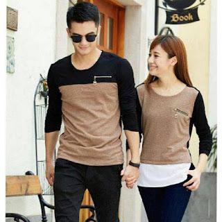 Jual Online Kaos Couple Murah Jakarta Bahan Cotton Terbaru