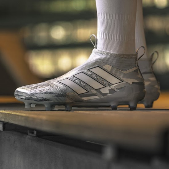 low priced 54218 a6671 Adidas today finally officially revealed the Camouflage Pack rendition of  the Adidas Ace 17+ PureControl. Featuring a snow camouflage pattern, ...