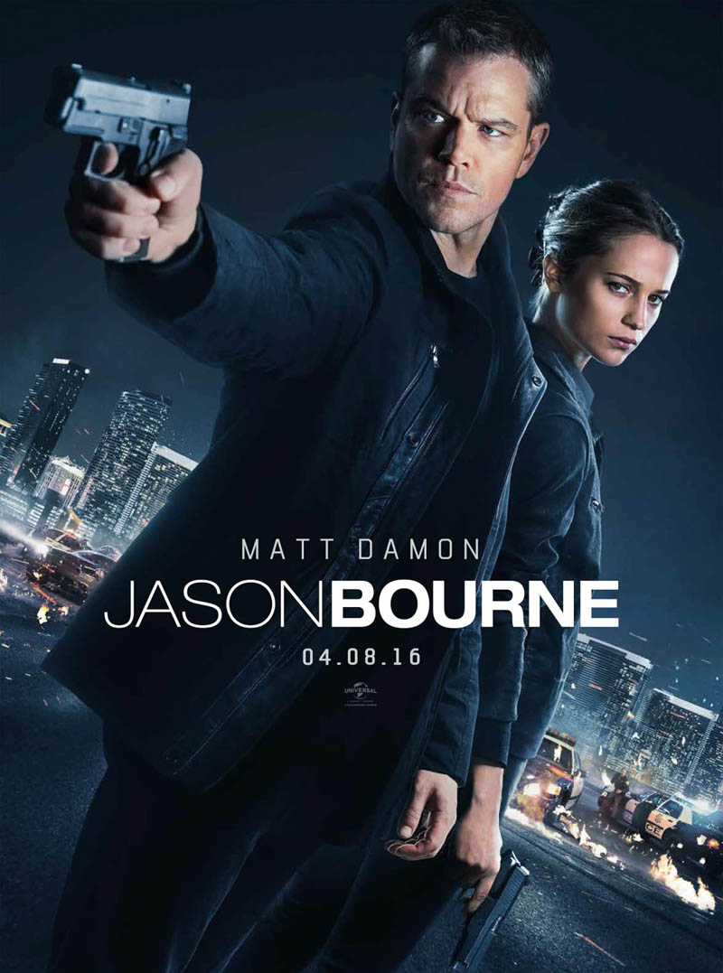 Jason Bourne – BluRay 720p e 1080p Dual Áudio (2016)