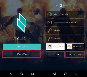 Aplicativo VIZER - Melhor que netflix
