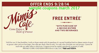 Mimis Cafe coupons march
