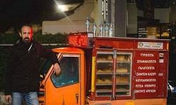 Ο «Παριζιάνος» από τη Λάρισα που νίκησε την ανεργία με ένα τρίκυκλο (φωτο - βιντεο)