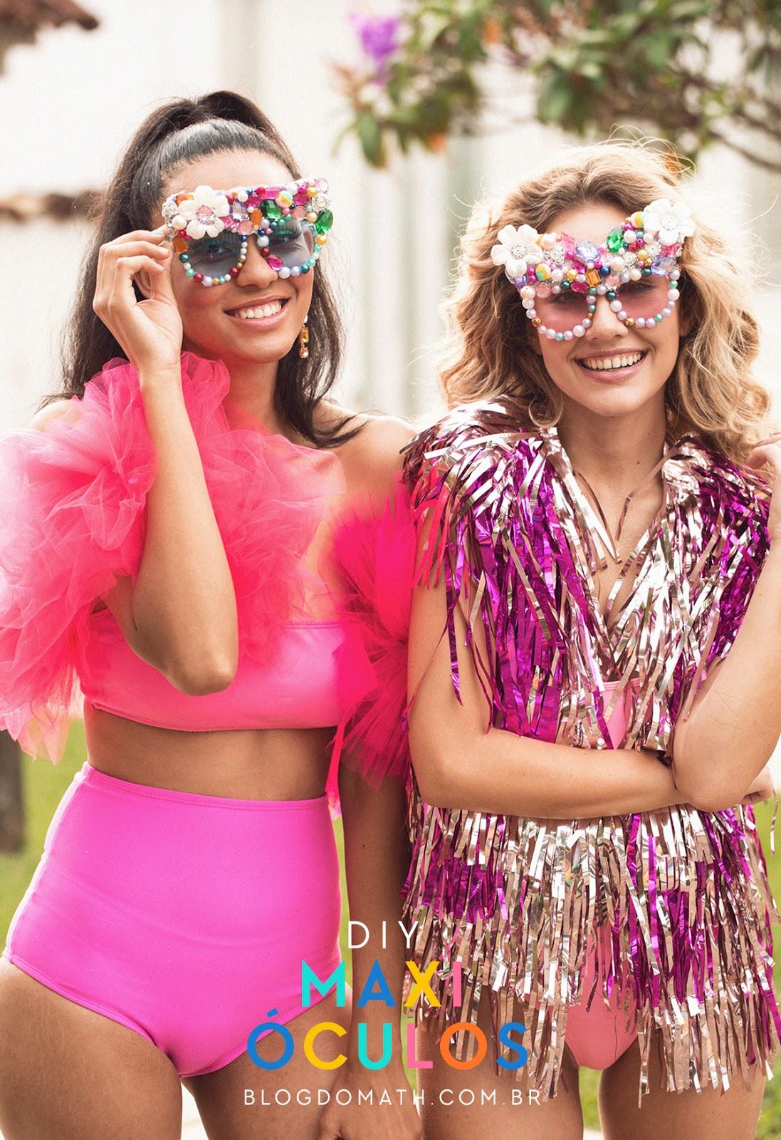 oculos de sol bloquinho de carnaval
