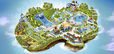Mappa Aqualand del Vasto