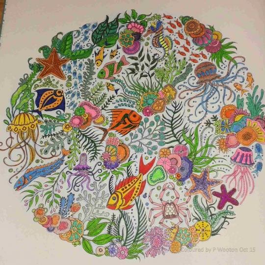 Nuevo libro para colorear de Johanna Basford: Lost Ocean