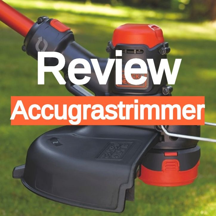 accugrastrimmer black decker STC5433 review accu tuingereedschap