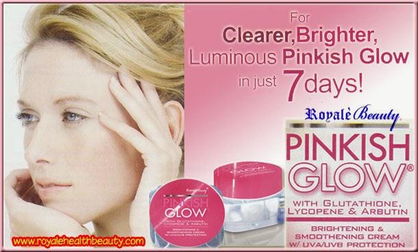 Pinkish Glow Brightening  amp  Smoothening Cream w  UVA UVB ProtectionRoyale Pinkish Glow Cream
