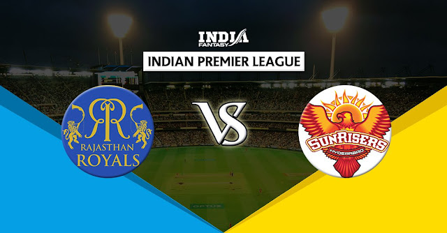 Sunrisers vs Rajashtan Royals IPL Live Scorecard | Live Ball to Ball IPL match updates