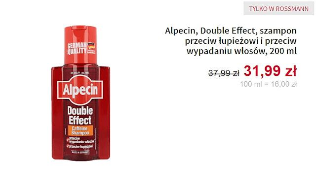 Alpecin - szampon przeviw łupieżowi i przeciw wypadaniu włosów