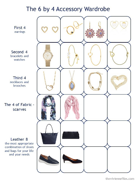 Step 2 of a 6 by 4 Accessory Wardrobe