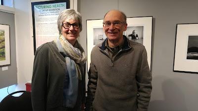 Sara Harley with Doug Pope (Robert Pope Foundation)
