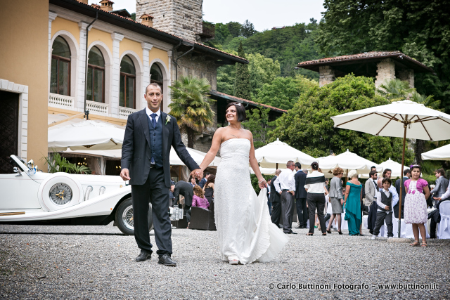 Fotografo matrimonio Villa suardi trescore