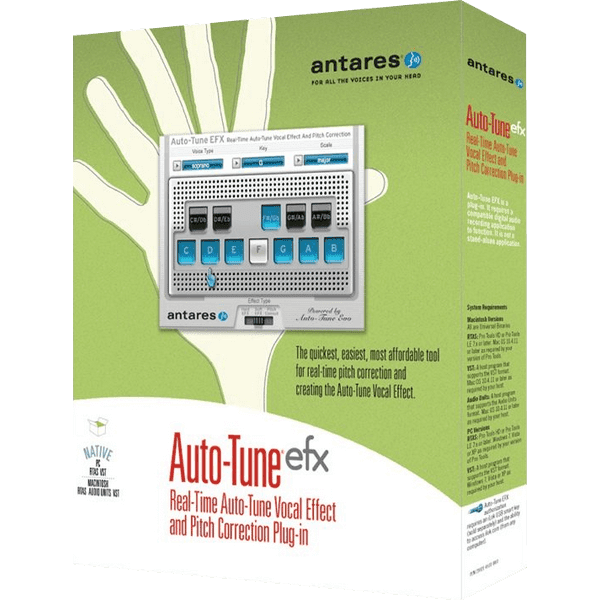 Antares Auto-Tune EFX v1.0.0 Full version