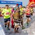 Ο Κρητικός ξυπόλυτος μαραθωνοδρόμος με την πανοπλία  έτρεξε στην Κίνα