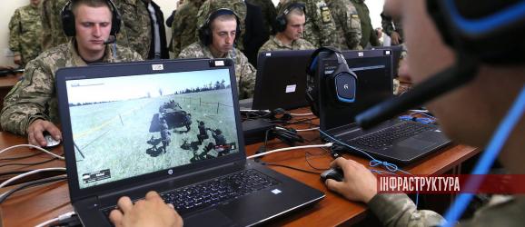 обладнання для класу імітаційного моделювання бойових дій