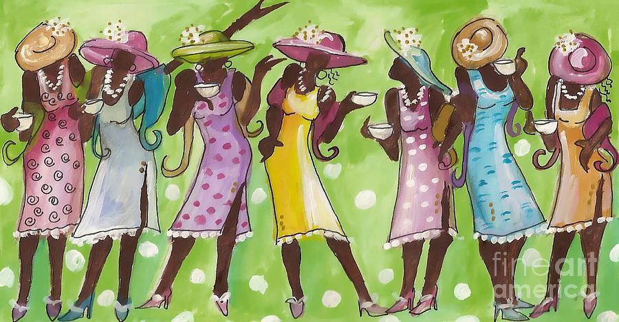 Free Clipart Black Women Wearing Hats Jamaican People,...