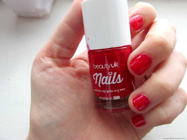 Beauty UK Cosmetics nail polish review