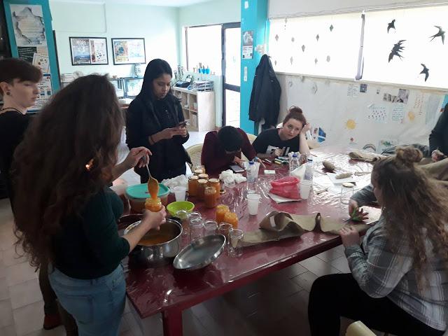 Ναύπλιο: Φοιτητές από το Rutgers University του New Jersey έφτιαξαν μαρμελάδες στην Πύλη Πολιτισμού