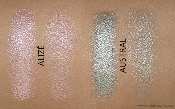 Lise Watier Escale Summer 2016 Collection Photos Swatches Ombre Fraiche Liquid Eyeshadows Alize Austral