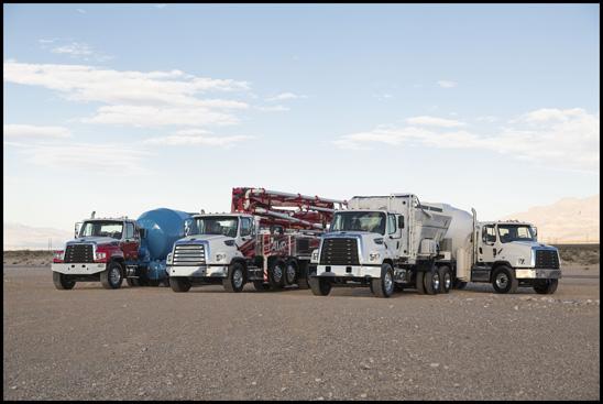 Freightliner 114SD Family of Trucks