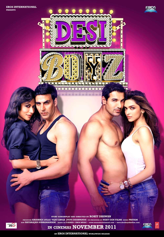 Desi Boyz (2011) Hindi 720p WEB-DL x264 950MB Free Download