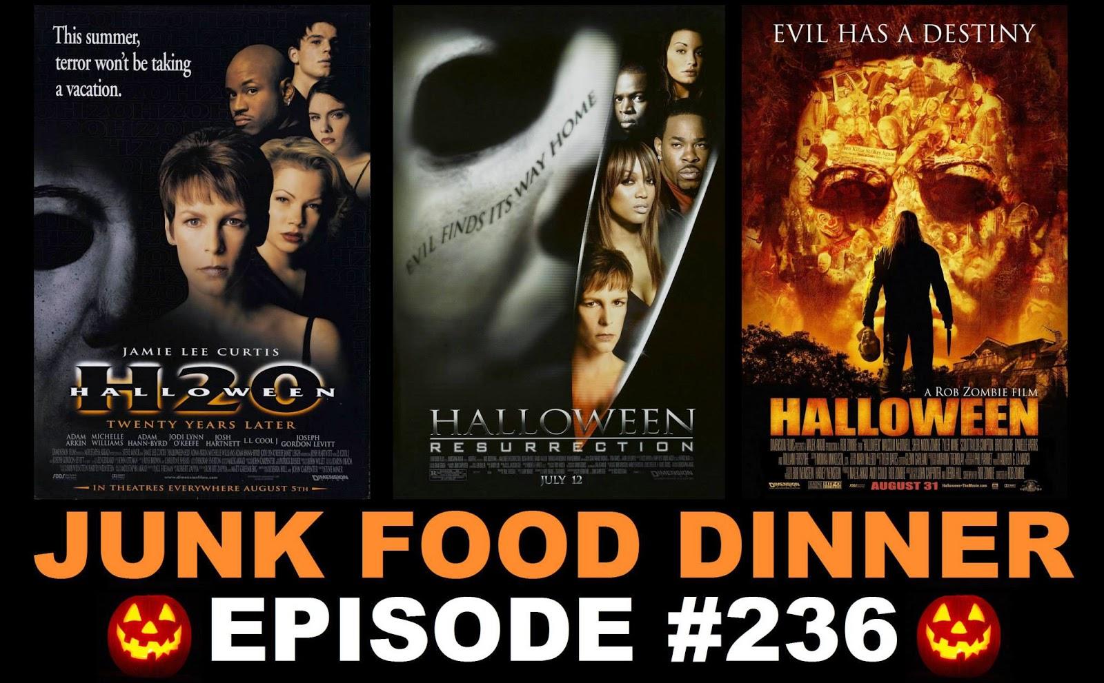 Halloween Rob Zombie Remake.Jfd236 Halloween H20 20 Years Later Halloween Resurrection