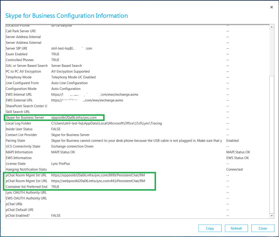 Skype for Business / Lync Server On-premises User migration