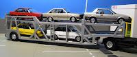 Tomica Limited Vintage   Car Transporter  carrier