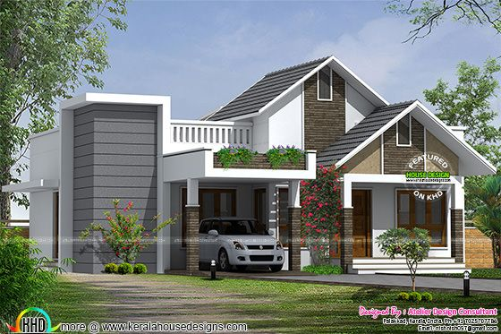 Cute small budget home architecture
