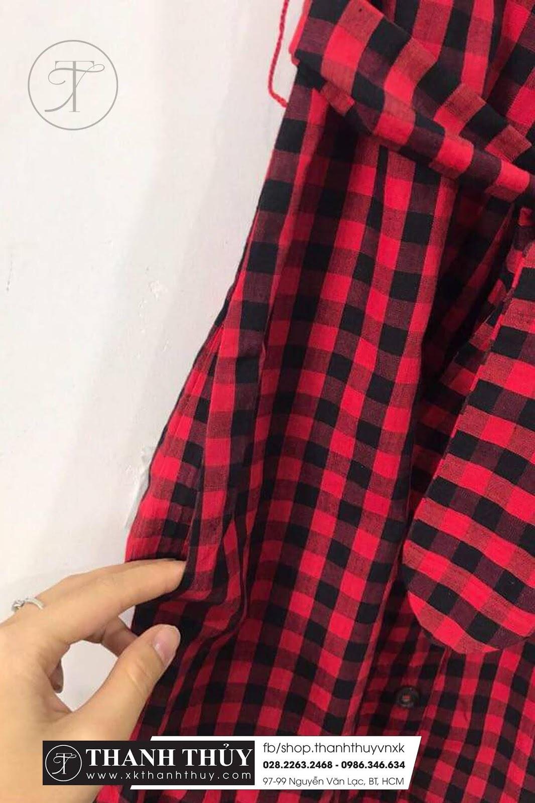 Đầm cara MNG chất xô thiết kế sơ mi