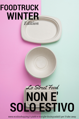 piatti biodegradabili per il take away