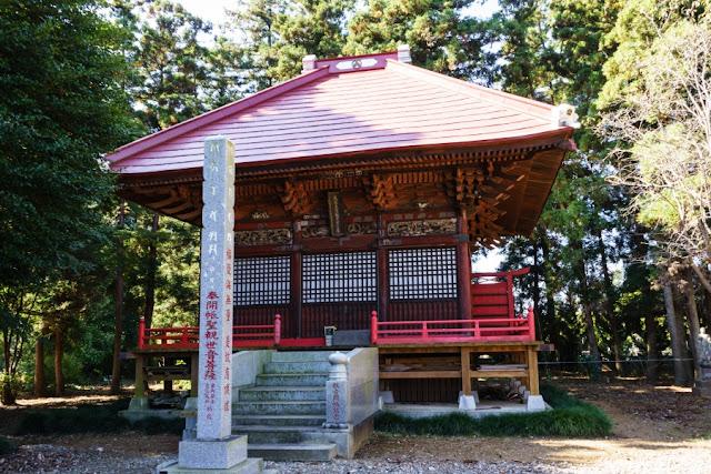 延命院(茨城県坂東市)の観音堂