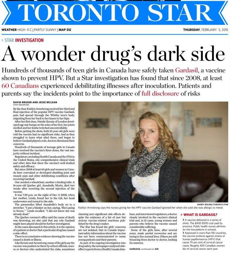 toronto take the leading role pollution articles