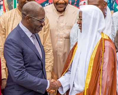 Obaseki calls for mutual tolerance among Citizens of Edo