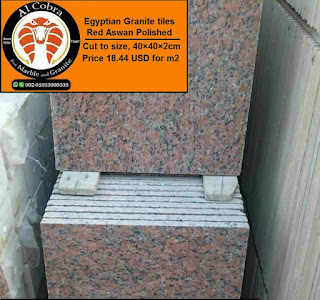 Egyptian granite Red Aswan